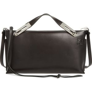 LOEWE Missy Lambskin Leather Shoulder Bag
